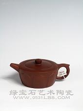 【李占平紫砂作品】僧帽壶