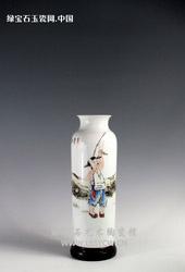 【喻明福作品】150件童趣瓶1