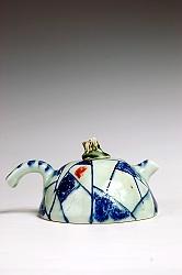 【熊国辉作品】陶艺壶-青花壶