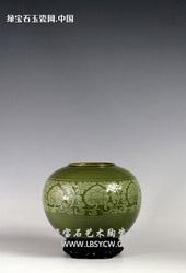【潘建波作品】缠枝牡丹瓶
