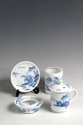 【玉柏茶具】书房四友夏景茶具