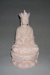 【苏杜村作品】12寸坐古莲戴冠地藏王